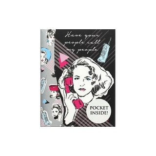 Link to Molly & Rex Mini Portfolio Pocket Pad Your People Similar Items in Craft Lover's Gifts