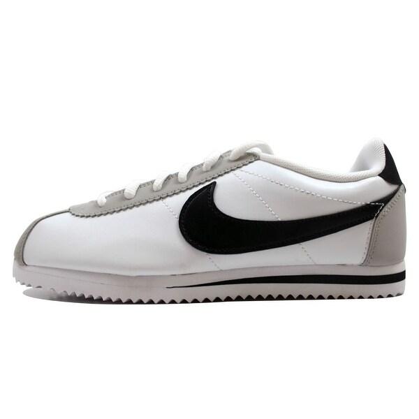 efa1f3db62e50b Nike Grade School Cortez White Black-Neutral Grey 749482-100 Size 6.5Y