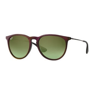 Ray-Ban RB4171 54mm Erika Classic Sunglasses (Black Silver / Brown)