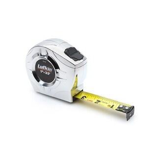 Apex Lufkin 182-P2048CMEN 1 in. x 26 ft. 25 mm x 8 m Lufkin Tape, Chrome