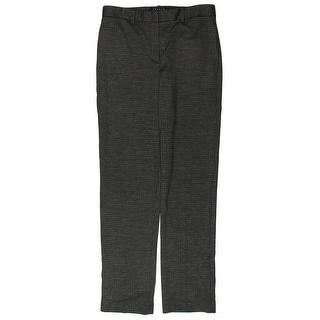 Theory Womens Dress Pants Houdstooth Wool - 6