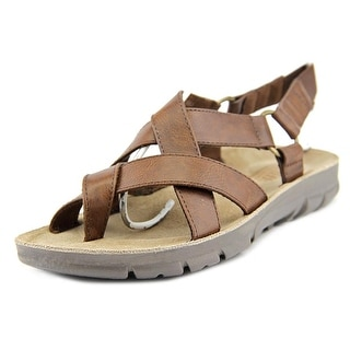 White Mountain Baffle Open-Toe Synthetic Slingback Sandal