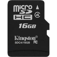 Kingston SDC4/16GBSP Kingston SDC4/16GBSP 16 GB microSDHC - 1 Card/1 Pack