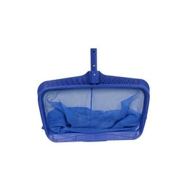 "19.75"" Heavy Duty Deep-Bag Swimming Pool Leaf Rake Head"