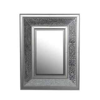 Privilege 88437 30 x 3 x 38 in. Beveled Rectangle Mosaic Mirror