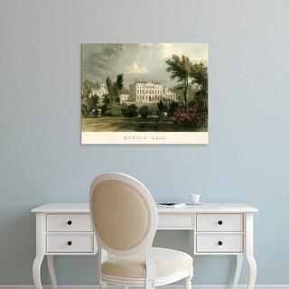 Easy Art Prints T. Allom's 'Howick Hall' Premium Canvas Art