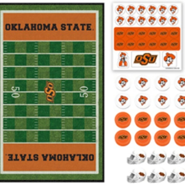 Masterpieces 41558 CLC Oklahoma State Checkers Puzzle
