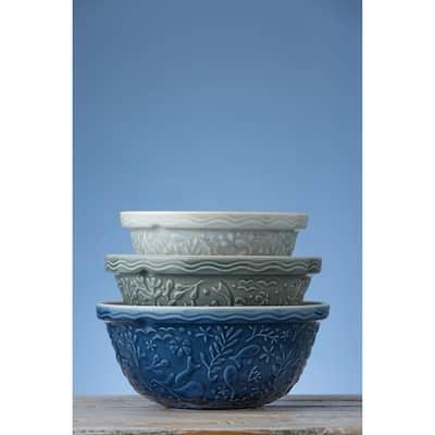 Nautical Mixing Bowl Set of 3