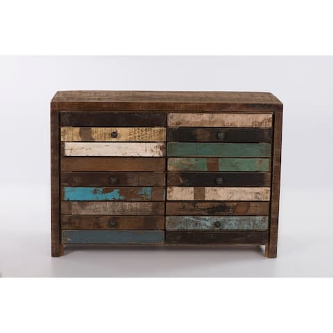 Wooden Chest of 6 Drawers - 59 inch in width