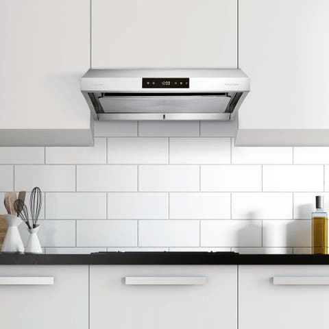 """Hauslane PS38 30"""" Under Cabinet Range Hood 950 CFM, Atuo Steam Clean, 6 Speed, LED - 30"""