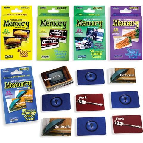Basic Memory Game Set Of 5