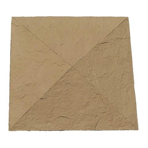 "NextStone Polyurethane Faux Stone 18"" x 18"" Column Wrap Cap - N/A"