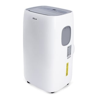 DELLA 10000 BTU Portable Air Conditioner AC with Silver Ion Filter Fan Dehumidifier for Rooms Up To 450 sq.ft