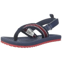3370be7a2472 Shop Kids Reef Boys Grom Roundhouse Ankle Wrap Bungee Flip Flops ...
