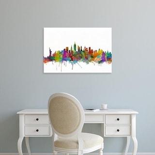 Easy Art Prints Michael Tompsett's 'New York City Skyline' Premium Canvas Art