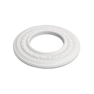 Spot Light Ring White Trim 4 ID x 8 OD Mini Medallion