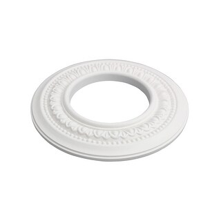 Spot Light Ring White Trim 4 ID x 8 OD Mini Medallion Set of 5