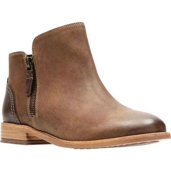 584aa390aa Shop Clarks Women's Maypearl Juno Ankle Bootie Brown Full Grain ...