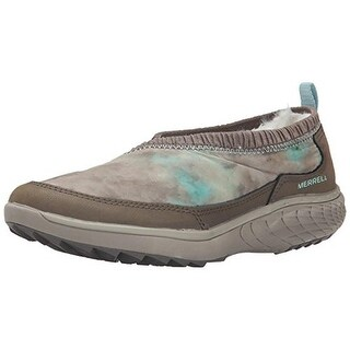 Merrell Womens Pechora Wrap Leather Colorblock Slip-On Shoes