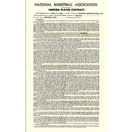 George Steinbrenner Contract ()
