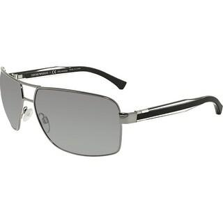 Emporio Armani Men's EA2001-301081-64 Grey Square Sunglasses