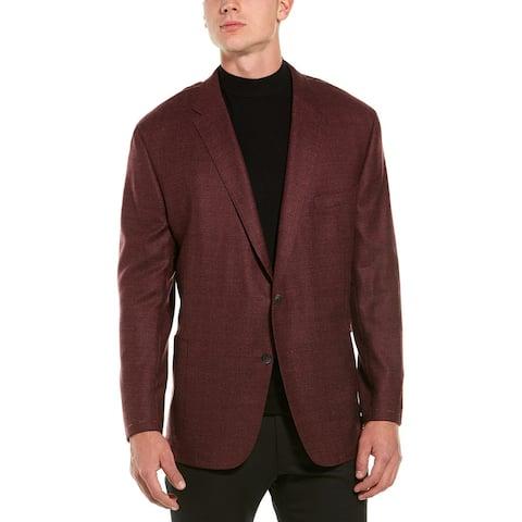 Hickey Freeman B Weightless Wool-Blend Sportscoat