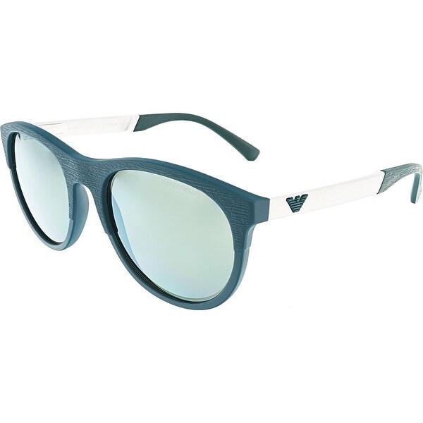 Emporio Armani Herren Sonnenbrille » EA4084«, blau, 55586R - blau/gold