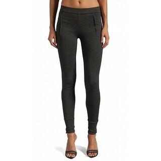 Vince NEW Gray Women's Size Large L Skinny-Leg Zipped Pants Stretch