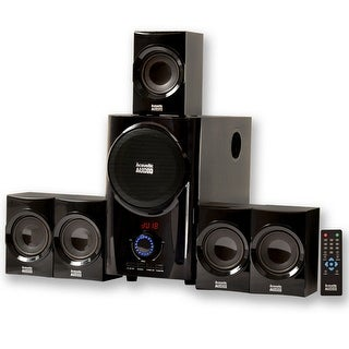 Acoustic Audio AA5160 Home Theater 5.1 Speaker System with USB (Refurbished)