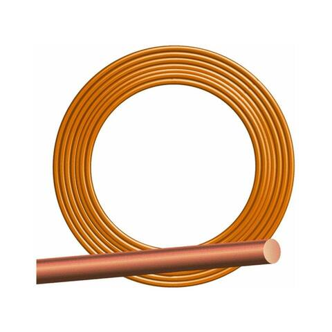 Southwire 10632802 Solid Bare Grounding Copper Wire, 8 Gauge, 500'