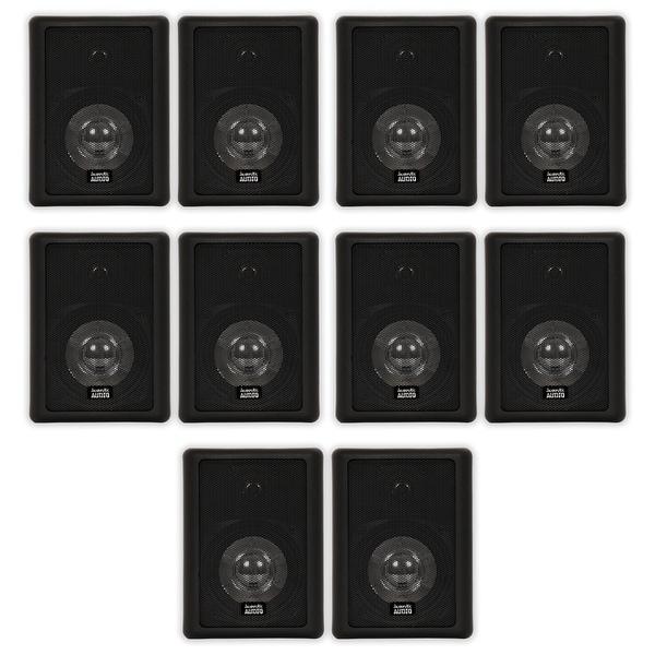Acoustic Audio 151B Indoor Outdoor 2 Way Speakers 3000W 5 Pair Pack 151B-5Pr