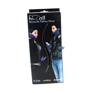 Hi-Call NEW Black Tipped One Size Men's Snow Bluetooth Talking Gloves