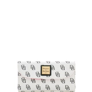 Dooney & Bourke Madison Signature Continental Clutch (Introduced by Dooney & Bourke at $118 in Feb 2017)