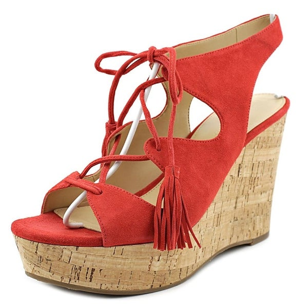 Ivanka Trump Zenia Women Medium Red Sandals