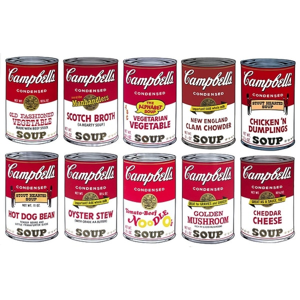 Shop Campbells Soup Can Series Ii By Andy Warhol Food Art