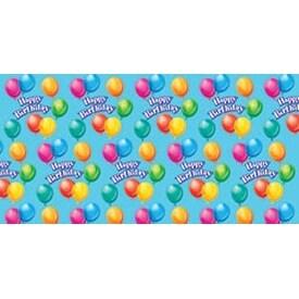 "Birthday Jubilee - Printed Gift Wrap 5'X30"" Roll"