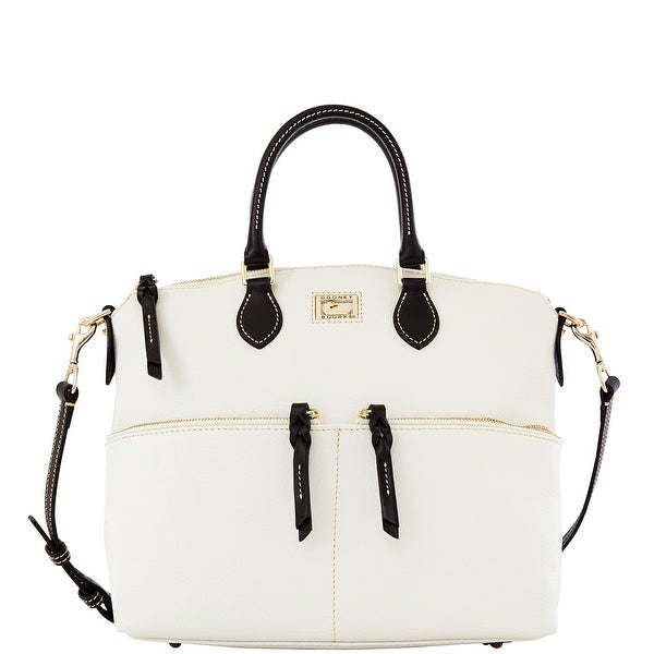 Dooney & Bourke Dillen Double Pocket Satchel (Introduced by Dooney & Bourke at $288 in Dec 2012)