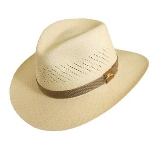Tommy Bahama Handwoven Panama Safari Hat - Natural