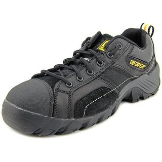 Caterpillar Argon CT Women Composite Toe Leather Black Work Shoe