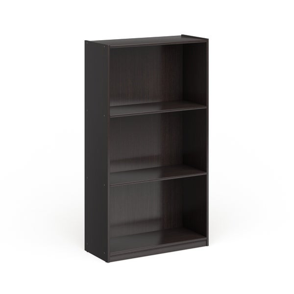 Porch & Den Chrystie Basic 3-shelf Bookcase. Opens flyout.