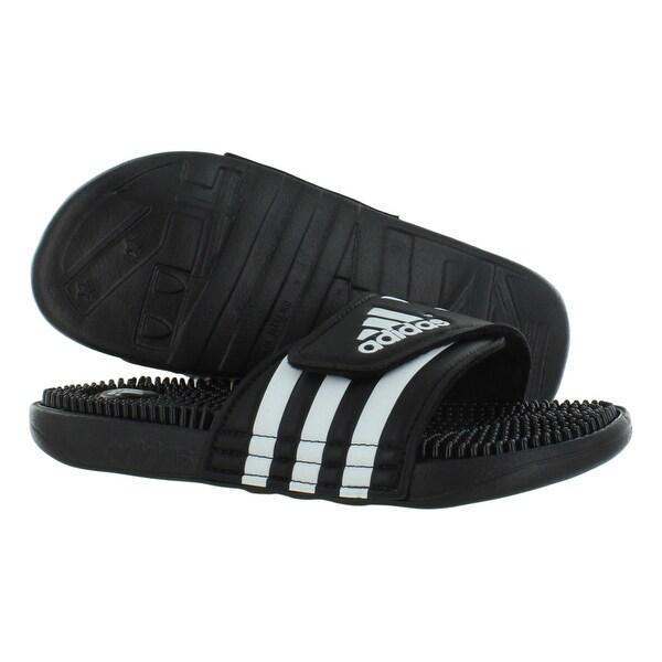 Adidas Adissage Sandali Scarpe Da Uomo Libero Taglia 12 D (M) Libero Uomo 3d73cb