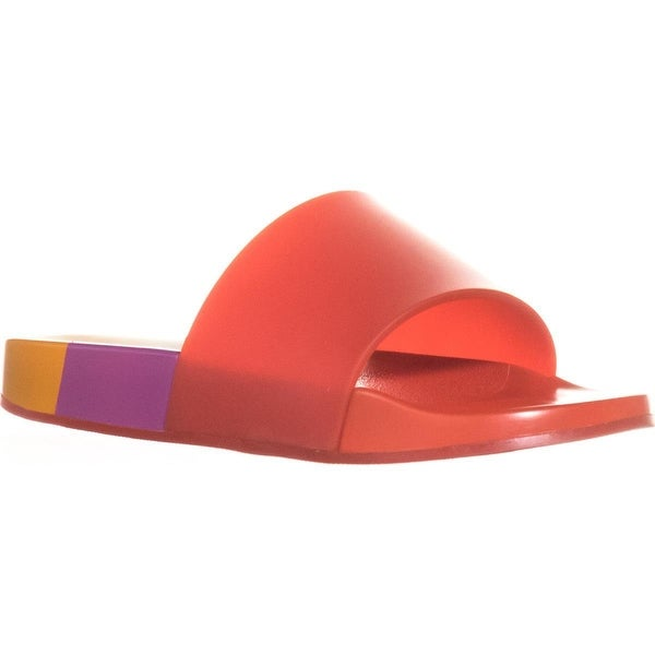 Katy Perry The Fifi Slide Sandals, Red Orange