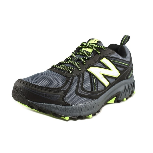 New Balance MT410 Men Round Toe Synthetic Black Trail Running
