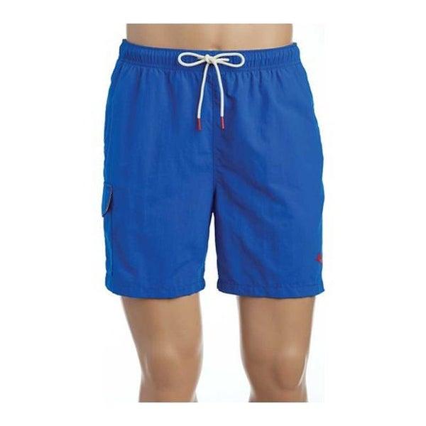 a2a26e55c33c3d Shop Tommy Bahama Men's Naples Coast Swim Short Santorini Blue - Free  Shipping Today - Overstock - 20269010