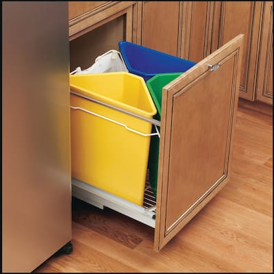 Buy Green Kitchen Trash Cans Online at Overstock | Our Best ...