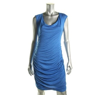 Jules & Jim Maternity Womens Jersey Gathered Maternity Dress