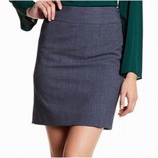 Amanda & Chelsea Womens Petite Straight Pencil Skirt