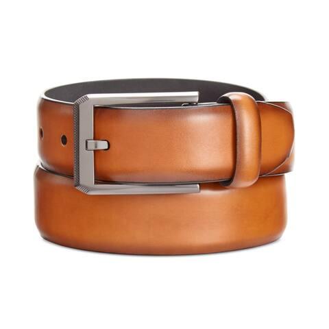 Alfani Mens Feather-Edge Belt