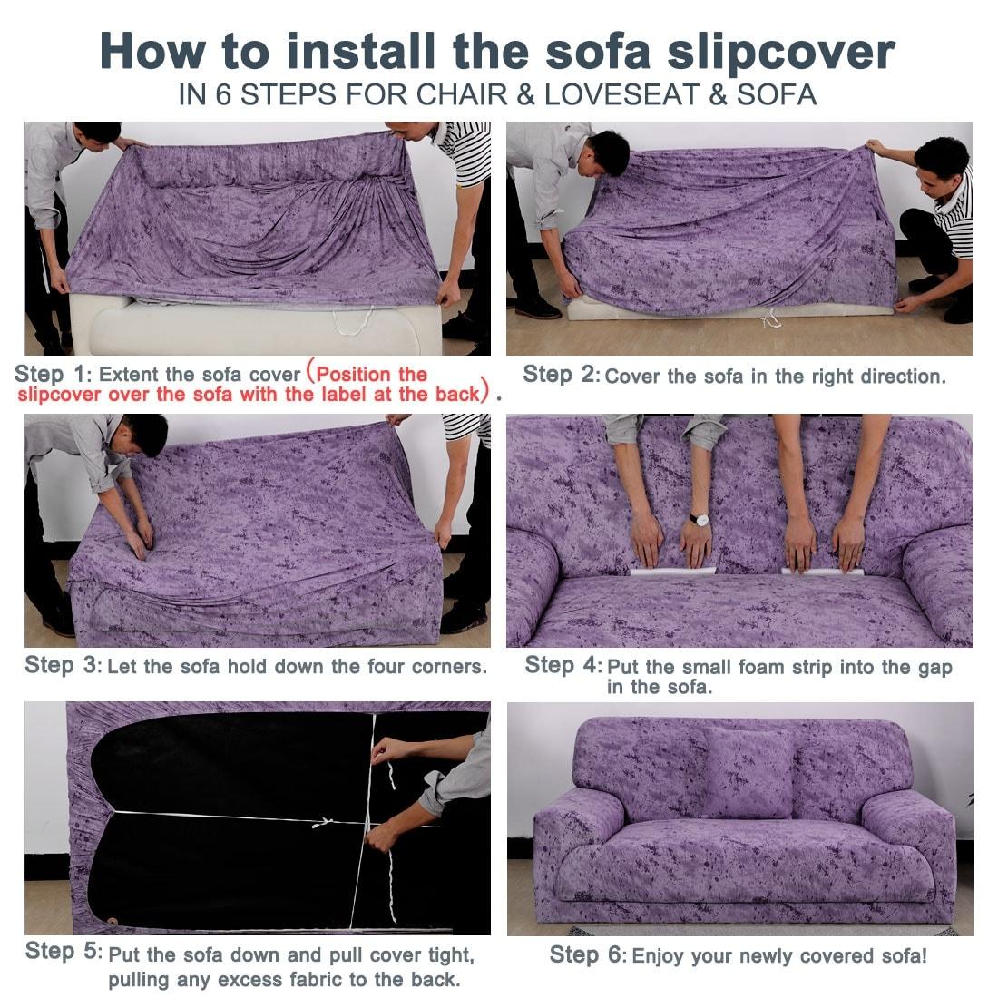 Sofa Cover 1 Piece Polyester