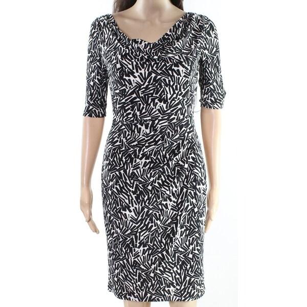 Cowl Neck Sheath Dresses: Shop Lauren By Ralph Lauren Womens Cowl Neck Sheath Dress